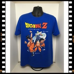 New~T-Shirt~Dragon~Ball~Z~DBZ~Blue~Licensed~